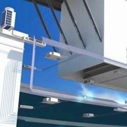 Hybrid VRF air conditioning