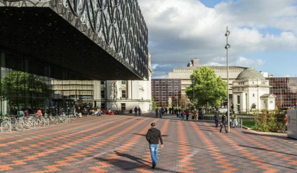 Landscape design at Birmingham Library