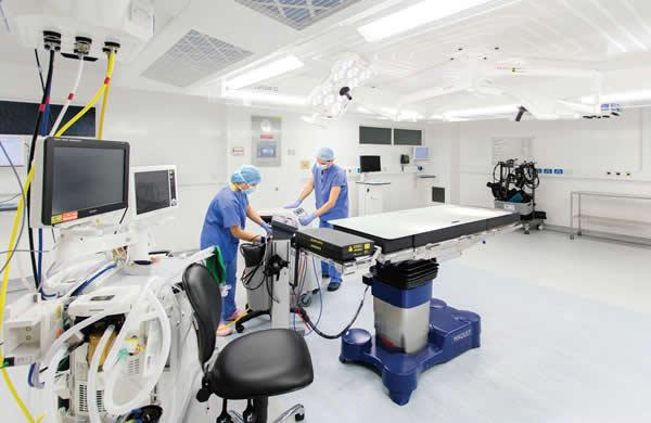 Modular construction for university hospitals