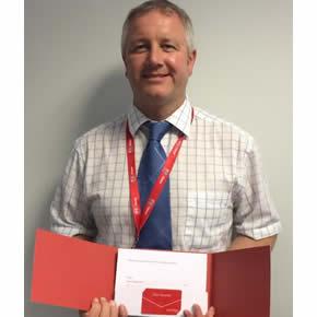 Recofloor Red Letter winner: Carl Taylor, Pen Alyn