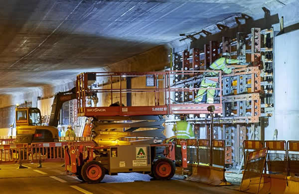 Concrete and structural repairs at Woodhouse Tunnel