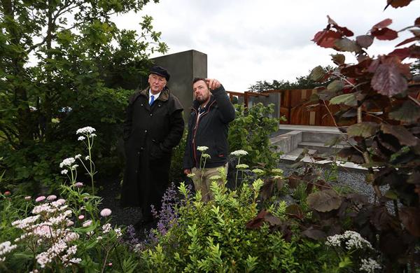 Charcon contributes paving to show garden development