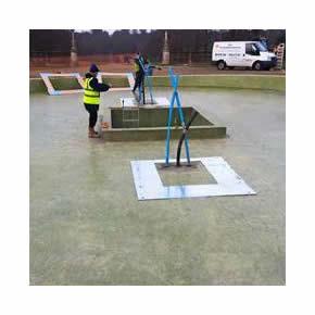 Waterproofing membrane for Hatfield House