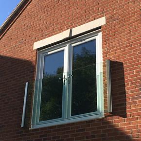 Frameless Glass Juliet balconies