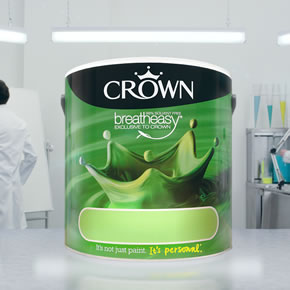 Colour specification from Crown Trade
