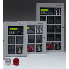 Advanced Axis AX fire integration panels