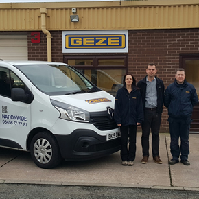 GEZE opens new service office