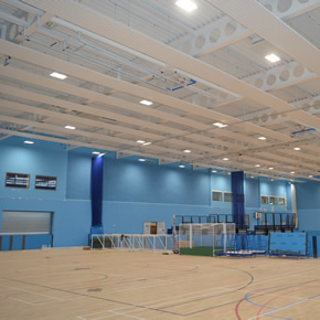 Merriott has supplied its heating and cooling systems to High Wycombe Leisure Centre
