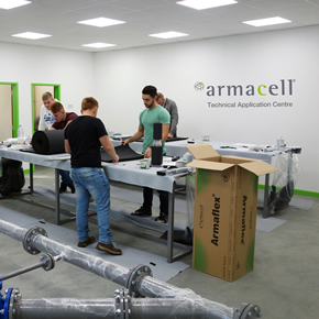 Armacell's on site technical application training centre