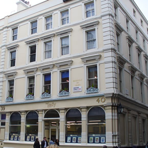 Acoustic windows specified to sound proof Convent Garden property