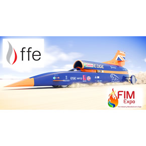 Talentum UV/Dual IR flame detectors in Bloodhound supersonic car