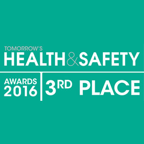 AlarmCalm achieves third place at Tomorrow's Health and Safety Awards 2016