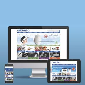 Airflow's new responsive ventilation website