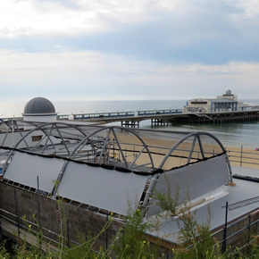 IKO Polymeric roofing for Bournemouth Oceanarium