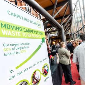 Carpet Recycling UK awards