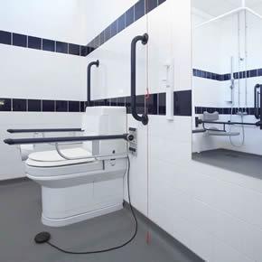 Palma Vita wash and dry toilet