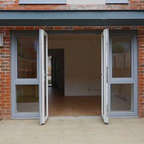 REHAU AGILA Passivhaus door