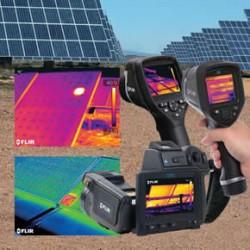 FLIR thermal imaging for solar panels