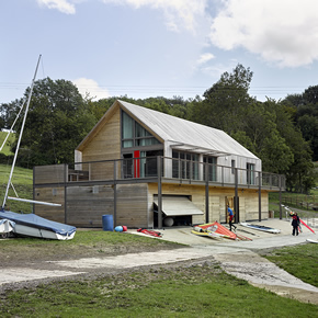 Schlüter-KERDI-BOARD specified for Llandegfedd Visitor Centre and Water Sports Centre