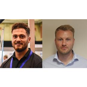 L-R: Matthew Lewis and Adam Johnson, new members of the Haus Profi sales team