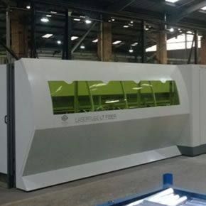 BLM Adige Fibre Optic Laser Cutter at Maldon production facility