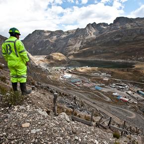 Alpha cable cleats in Peru, Latin America