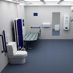 Accessible washroom from Clos-o-Mat