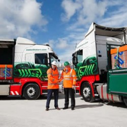 Eddie Stobart partners with Aggregate Industries