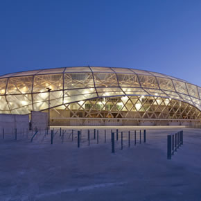 PVC materials used for Allianz Riviera Stadium