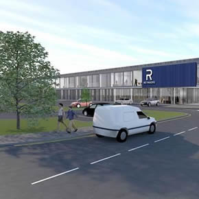 Reynaers' new headquarters