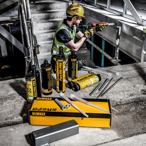 Adhesive anchors from DeWALT