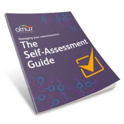 Altius' Self-Assessment Guide to managing subcontractors