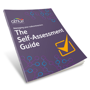Altius' Self-Assessment Guide to managing subcontractors