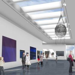 Aberdeen Art Gallery to benefit from gypsum fibreboard installation