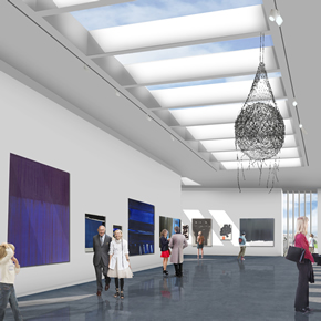 Aberdeen Art Gallery to benefit from gypsum fibreboard installation