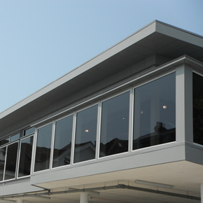 Skyline Fascia and Soffit system