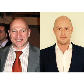 Ian Thorpe (L) and Griff Jones (R), Vortice Area Sales Trade Managers