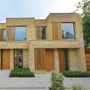Schueco systems at Teddington housing development