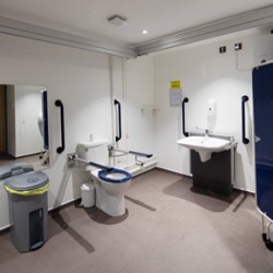 Changing Places facility at Haymarket Bus Station