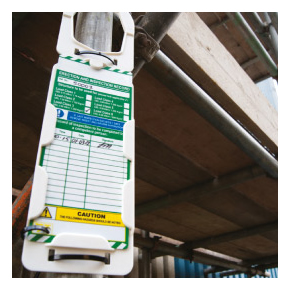 Equipment Tagging System from Scafftag