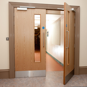 dormakaba promotes fire door safety