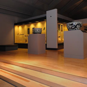 Red Oak flooring at the National Museum of Scotland