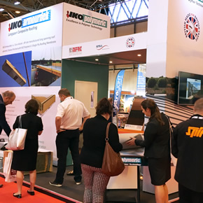 IKO Polymeric offsite roofing solutions at the Build Show