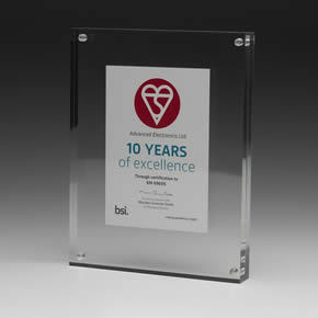 Fire systems supplier awarded for 10 years of excellence