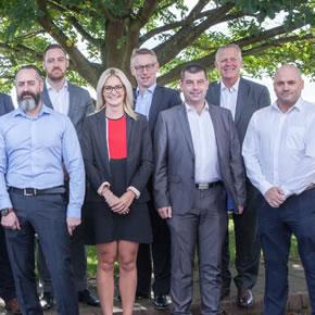 Viega's UK sales team