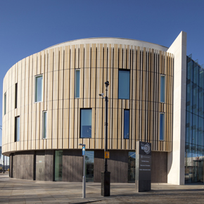 The Word, featuring the Kingspan TEK Cladding Panel
