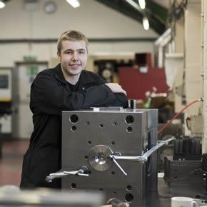 Louis Hopper: Ellis' new toolmaking apprentice