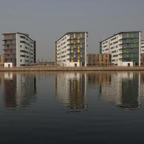 Precast concrete structures - University of Essex, student accommodation