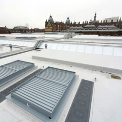Kirkgate Market with Sarnafil Plus roofing solution
