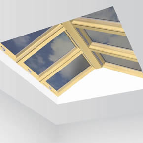 FAKRO EFR Flat Roof Gable System